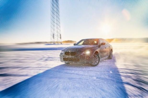 La BMW i4 en phase finale de développement