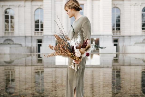 Léone, d'avocate à créatrice de compositions florales