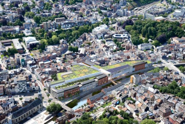 """Le centre commercial """"O Quai"""", prévu au centre de Verviers, définitivement abandonné"""