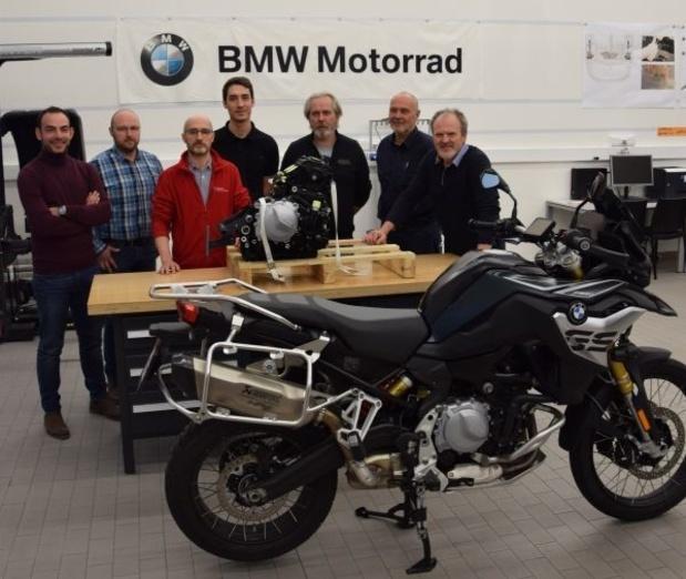 BMW motorfietsen voor het onderwijs