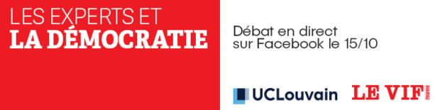 Assistez au prochain débat du Vif/L'Express et de l'UCLouvain !