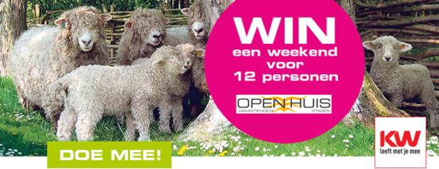 Win een weekend voor 12 personen met ontbijt - Open Huis Staden