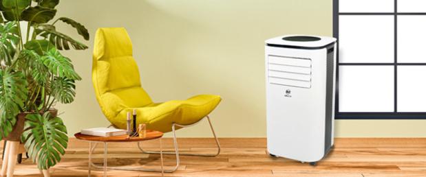 Vive la fraîcheur d'un climatiseur mobile