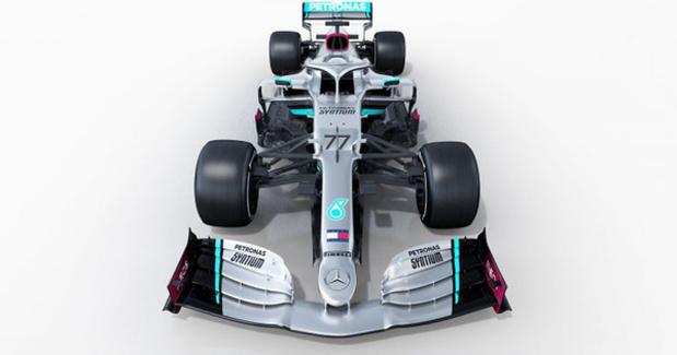Dit is de nieuwe F1 van Hamilton