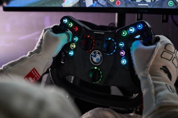 BMW partenaire d'un team d'e-sports