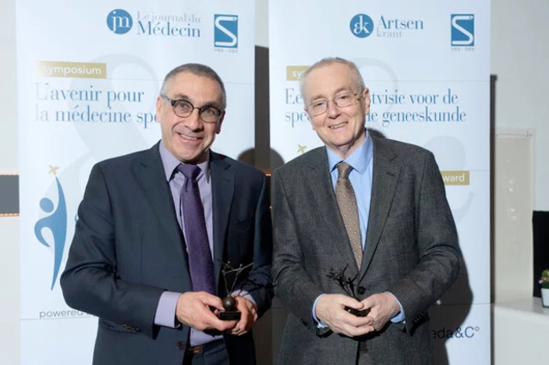 Specialist van het Jaar 2019: Marc Moens bekroond voor levenslange inzet