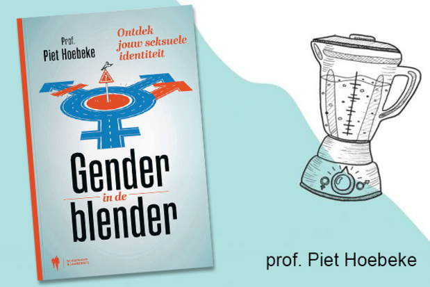 Boek : 'Gender in de blender' van prof. Piet Hoebeke