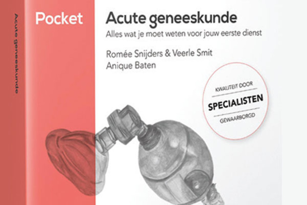 Naslagwerk : Pocket 'Acute geneeskunde' van Compendium Geneeskunde