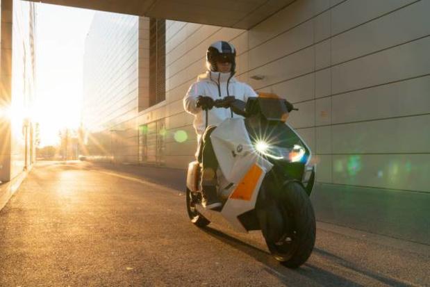 BMW toont concept van nieuwe elektrische scooter