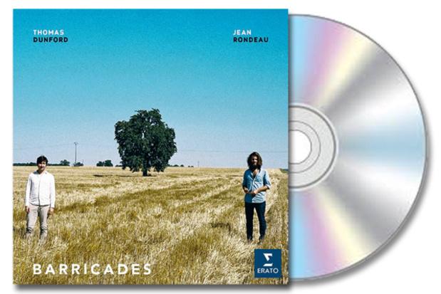CD : 'Barricades' van Jean Rondeau
