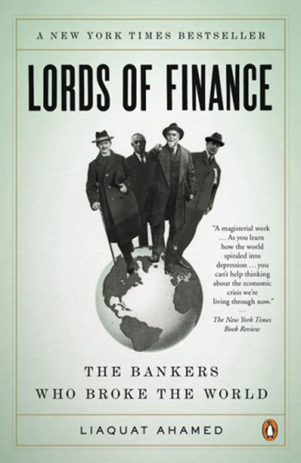 Het geldboek van Daan Killemaes (hoofdeconoom Trends Magazine): Lords of Finance van Liaquat Ahamed
