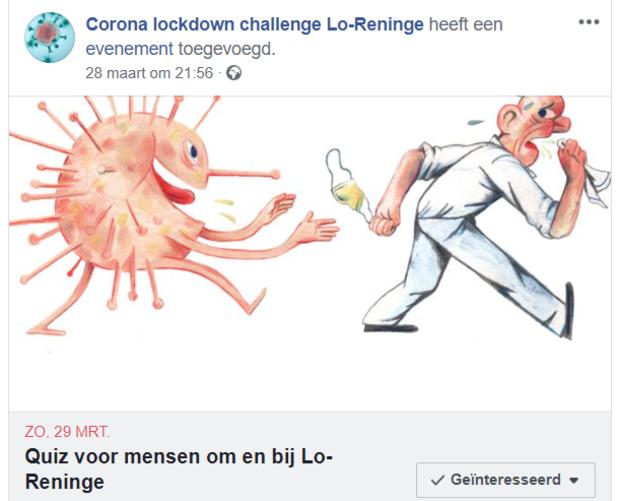 Quizfanaat lanceert Corona Lockdown Challenge