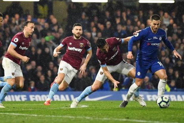 Eden Hazard auteur du plus beau but du mois d'avril en Premier League