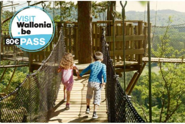 Gros succès pour le pass touristique Visitwallonia, écoulé en 15 minutes