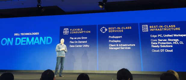 Dell vend à présent aussi du matériel selon le modèle 'as a service'