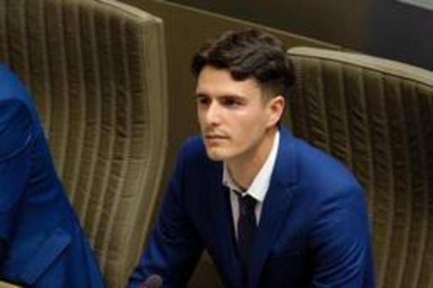 Conner Rousseau, jeune candidat à la présidence de la SP.A.