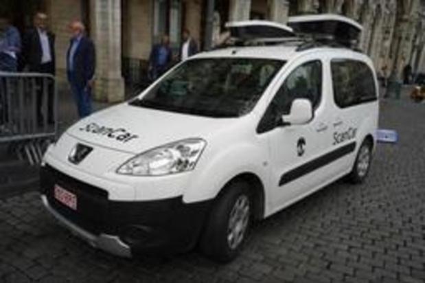 La scancar remplace le contrôleur de parking à Knokke-Heist