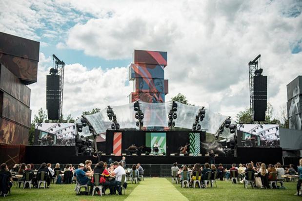 Zomerbarevenementen op festivalweide Rock Werchter kregen 15.000 mensen over de vloer