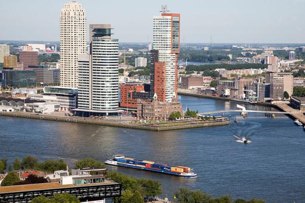 24 heures à Rotterdam : sur terre, sur l'eau et un peu dans les airs