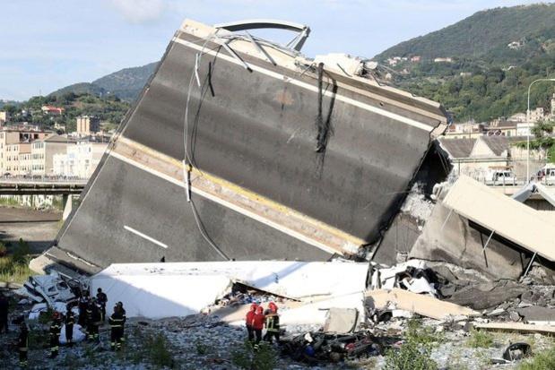 Des capteurs belges capables de prévoir l'écroulement de ponts