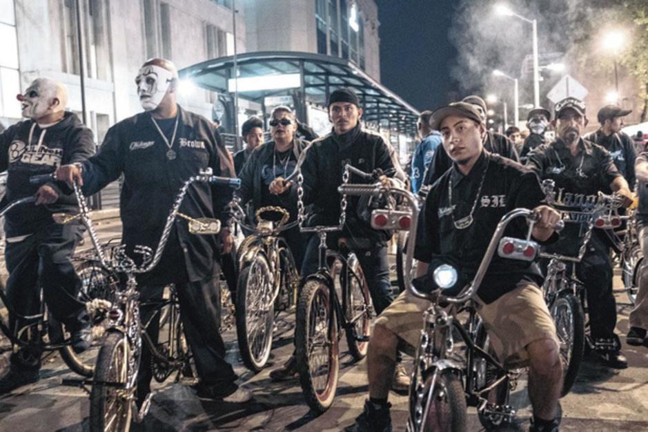 En images: au coeur du Chilangos Lowbike Club de Mexico, où vélo et culture lowrider peignent une autre image de la capitale