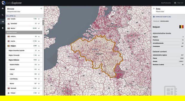 GeoPostcodes, une petite start-up de La Hulpe sert des géants mondiaux de la logistique