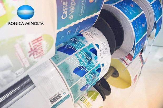 Les coronavirus et l'industrie des étiquettes - Konica Minolta