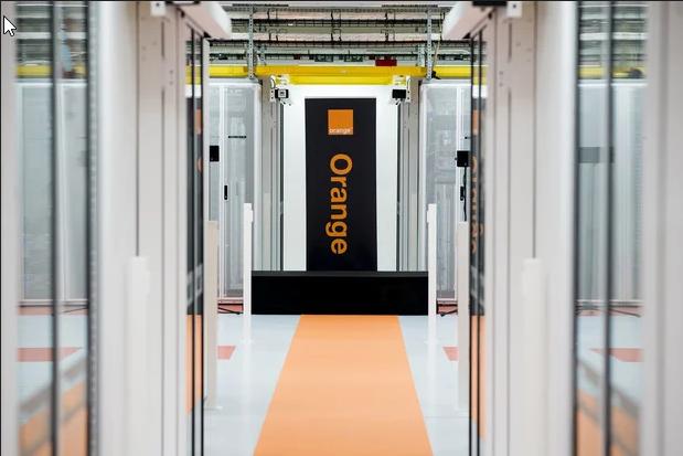 Orange à  propos de son projet de devenir le principal fournisseur européen en produits de sécurité