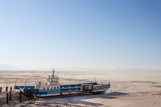 La baisse de la mer Caspienne menace une plateforme pétrolière géante