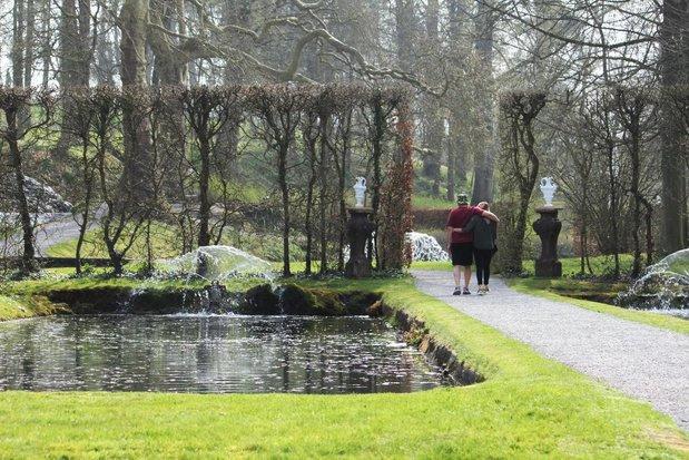 Bridgerton en Belgique : randonnée et rêverie dans les Jardins d'Annevoie