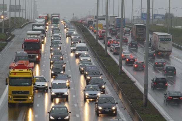 Les routes belges toujours plus congestionnées