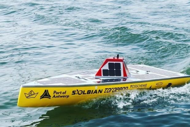 Chavirement d'un bateau belge lors d'une tentative de traverser l'océan de manière autonome