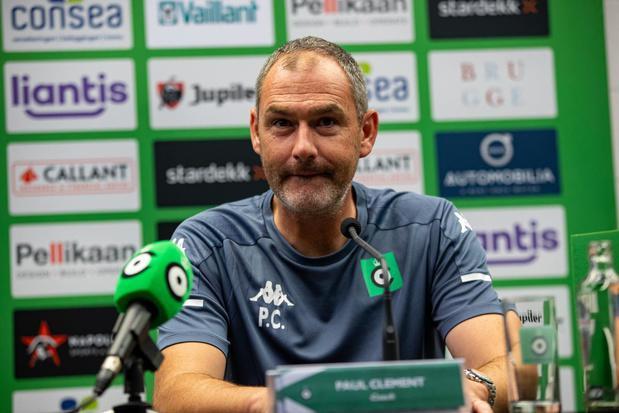 """Trainer Paul Clement trekt met Cercle naar Eupen. """"We zijn aan elkaar gewaagd"""""""