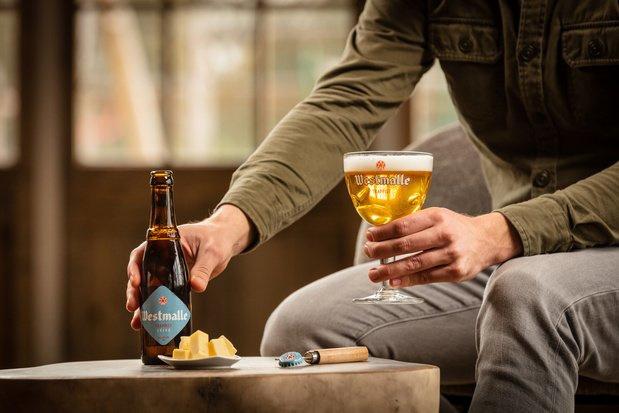 """Plus légère que ses soeurs, la """"bière des moines"""" de la brasserie de Westmalle désormais accessible au grand public"""