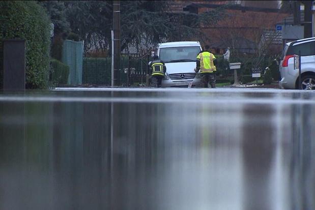 Les pompiers anversois utilisent un logiciel capable de prévoir des inondations