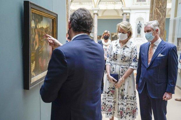 Visite d'un musée à l'heure du coronavirus