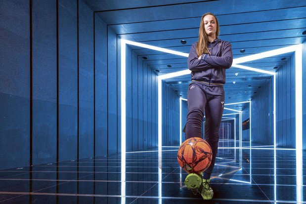 """Tine De Caigny: """"Je suis très heureuse à Anderlecht, mais l'ambition d'aller à l'étranger est là"""""""