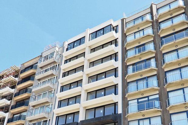 Vastgoed aan de kust: in Middelkerke-Westende vind je de goedkoopste appartementen