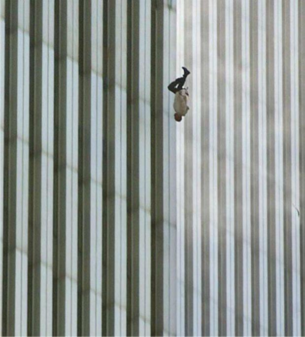 """11 Septembre: """"The Falling Man"""", une icône instantanée"""