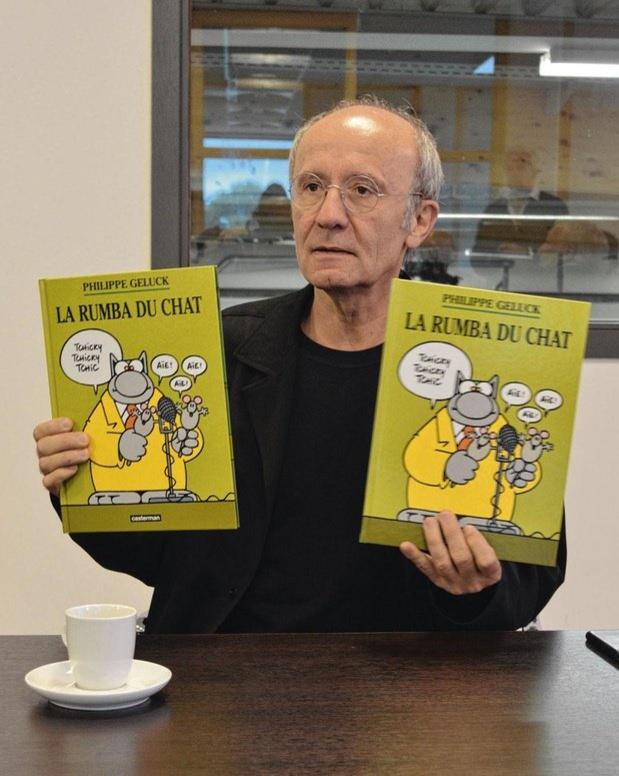 Drukkerij Snel personaliseert een stripalbum van Philippe Geluck