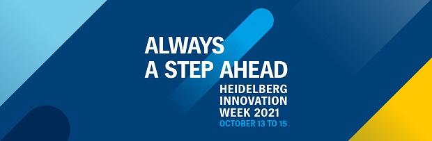 Always a step ahead - Heidelberg Innovation week van 13 tot 15 oktober