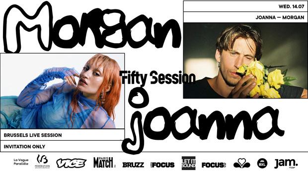 Win een duoticket voor de Fifty Summer Session: Morgan & Joanna van woensdag 14/7