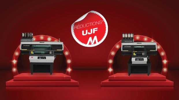 Les imprimantes UV Mimaki les plus vendues sont en promotion jusque fin septembre