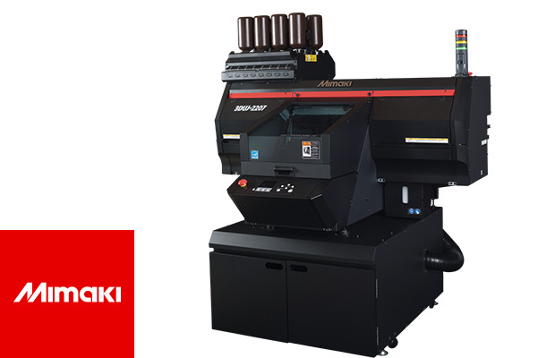 Mimaki komt met nieuwe compacte 3D-inkjetprinter in uv-kleuren