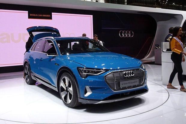 La voiture électrique d'Audi risque de s'enflammer