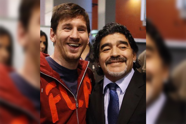 Van Messi tot Cantona: zo eren voetbalgrootheden Diego Maradona