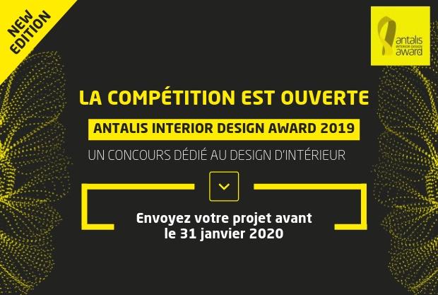 L'Antalis Interior Design Award est de retour !