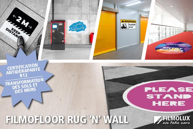 Transformez en une seule étape murs et sols avec FILMOfloor Rug 'n' Wall