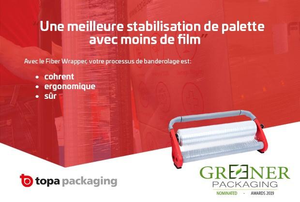 Magnifique 3e place pour Topa aux Greener Packaging Awards