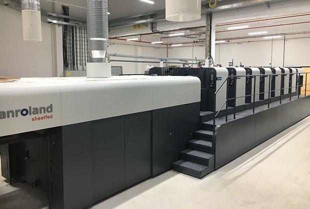 Heintz Van Landewyck investeert in nieuwe Roland 706 zeskleurenpers